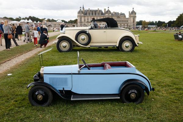 Citroën C6 Roadster & Citroënnette C6 - 1931