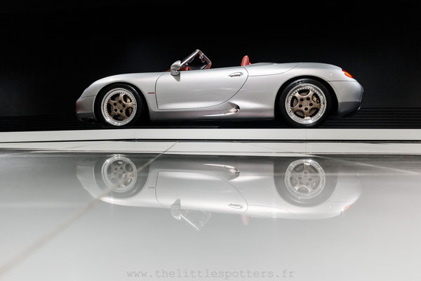 Porsche Boxster Concept, Musée Porsche - Exposition Colours of Speed, 50 Jahre Porsche 917