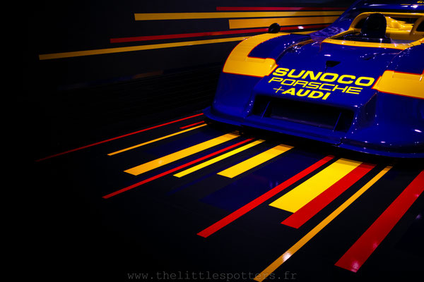 Porsche 917/30-002, Musée Porsche - Exposition Colours of Speed, 50 Jahre Porsche 917