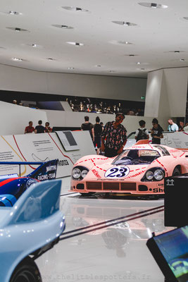 Porsche 917-20-001 'Pink Pig', Musée Porsche - Exposition Colours of Speed, 50 Jahre Porsche 917