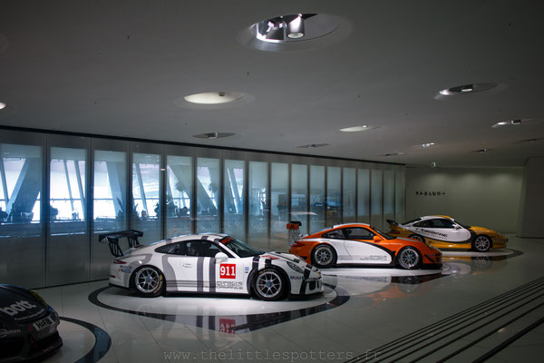 Musée Porsche - Exposition Colours of Speed, 50 Jahre Porsche 917