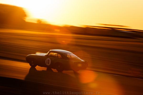 Urs Müller / Arlette Müller, Aston Martin DB4GT, Kinrara Trophy - Goodwood Revival 2019