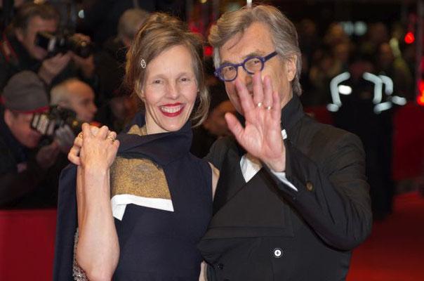 Donata und Wim Wenders
