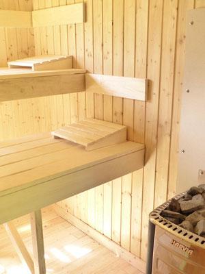 Ferienwohnung an der Schlei Sauna