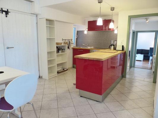 Ferienwohnung an der Schlei Erdgeschoss Küche & Essbereich