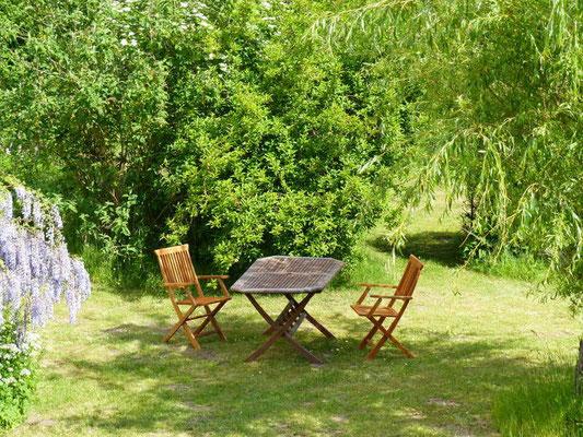 Ferienwohnung an der Schlei Garten