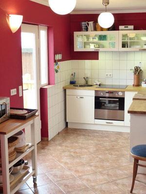 Ferienwohnung an der Schlei Obergeschoss Küche