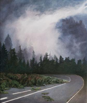 Sturm, 60 x 50 cm, Oil on canvas, 2019
