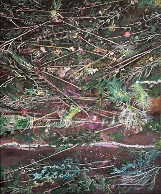 O.W., 60 x 50 cm, Oil on canvas, 2019