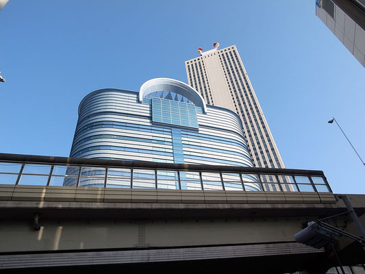 サンシャインシティの高層ビル群。