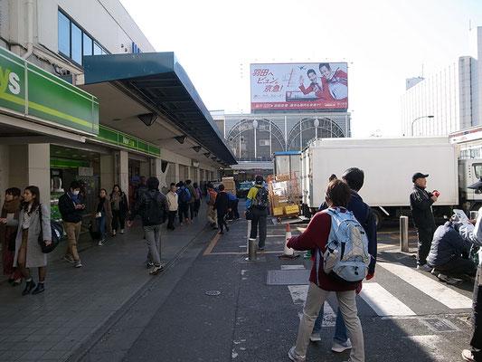 品川駅に到着。でもトイレが無い!