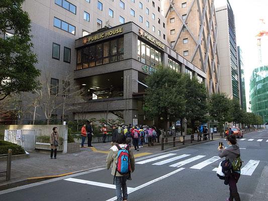 渋谷駅新南口に到着。こんな改札口知らなかった。