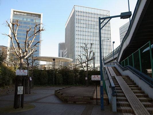 大崎界隈のオフィスビル群