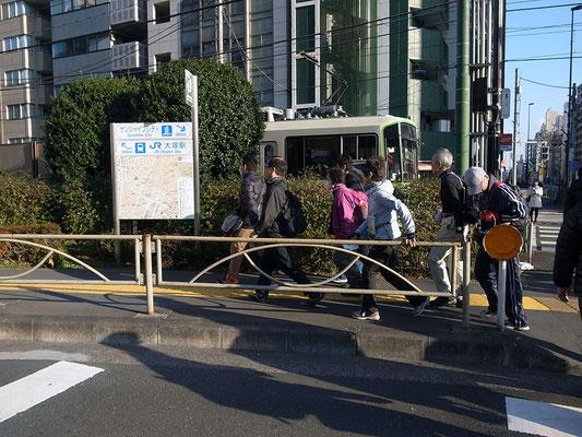 大塚駅界隈。