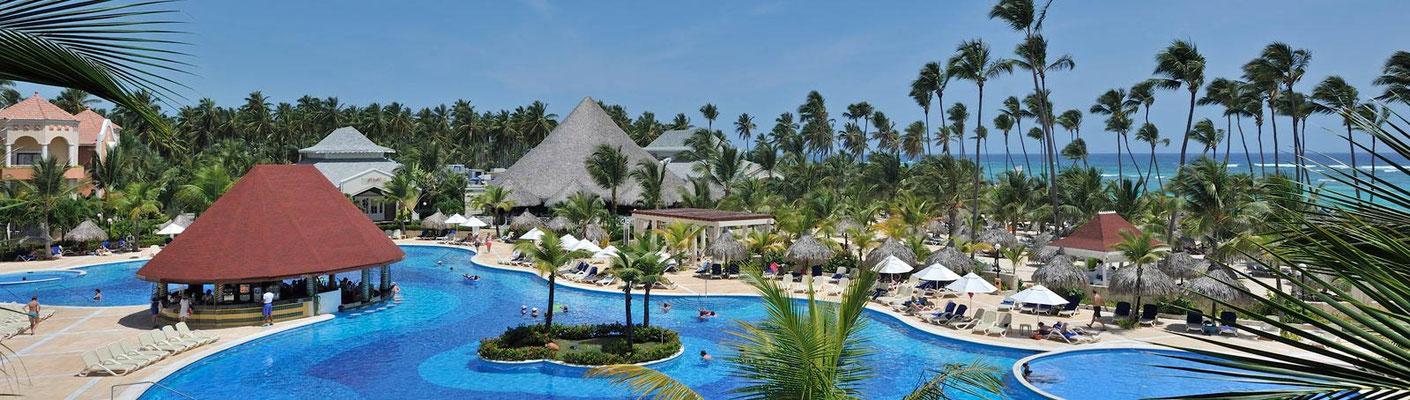 Dominikanische Republik all inclusive Hotel mit Flug direkt am Strand günstig last minute Reise buchen