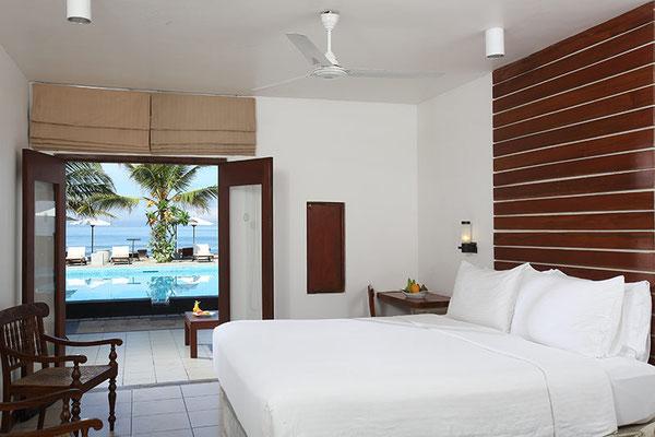 Jetwing sea beliebtes Hotel am Strand von Negombo bei reisleotsen buchen