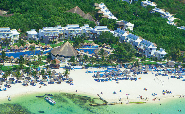 Neckermann all inclusive Urlaub Mexico im Sandos Caracol Eco Resort mit Flug