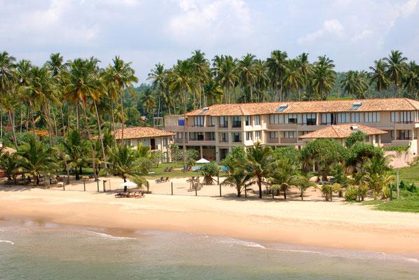 Mandara Beach Hotel Urlaub Sri lanka im Strandhotel bei Weligama