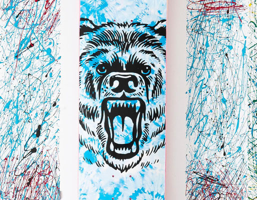Aaron Kyro's Pro Tie Dye Deck from the Revive Spring 2020 Release