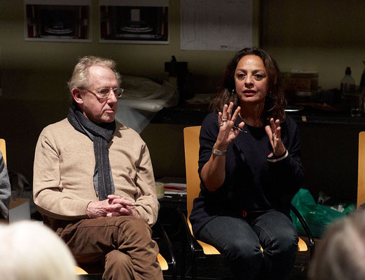 Walter Hess und Mitra Nadjmabadi