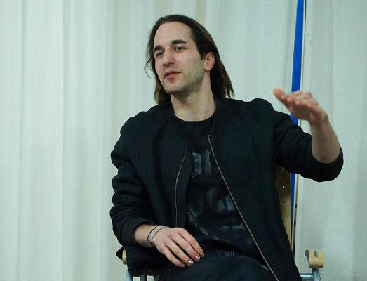 Thomas Hauser beim Förderverein Münchner Kammerspiele. Foto: Hans Kopp