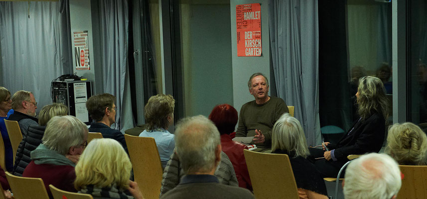 Christoph Gurk beim Förderverein Münchner Kammerspiele. Foto: Hans Kopp