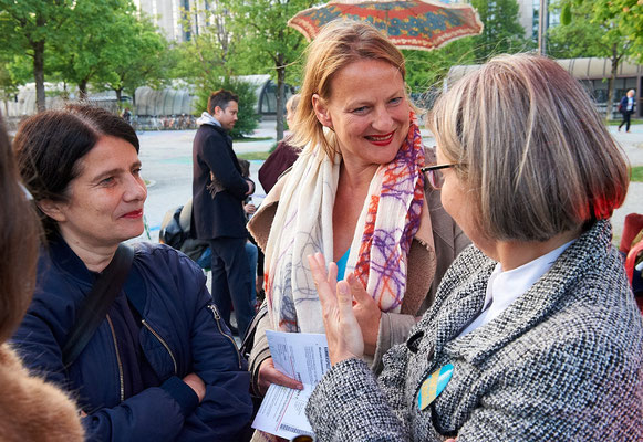 von links: Julia Lochte, Michaela Steiger, Martina Taube