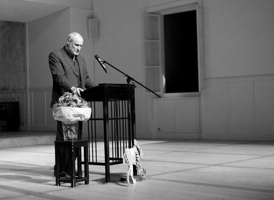 Theaterpreis der Stadt München an Annette Paulmann. Foto: Hans Kopp