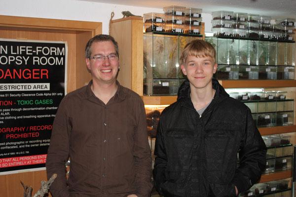 Boris Striffler und Fabian Becker (Deutschland).