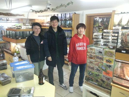 Geschäftsfreunde aus Südkorea.