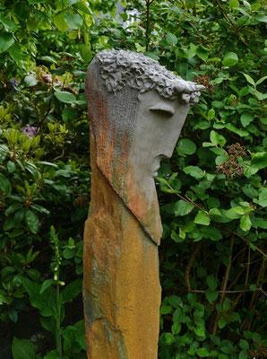 Pan (Keramik auf Stein)