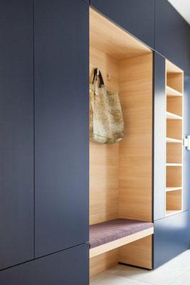 aménagement intérieur entrée meuble rangements Pinterest blog al intérieurs
