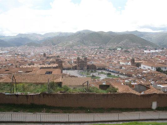 Cusco desde Iglesia de San Cristobal