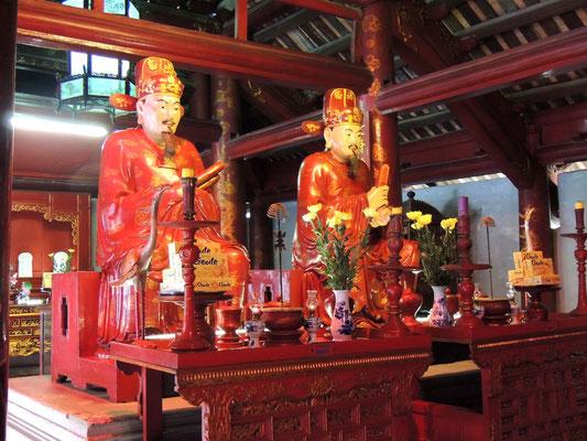 Interior del Templo de la Literatura