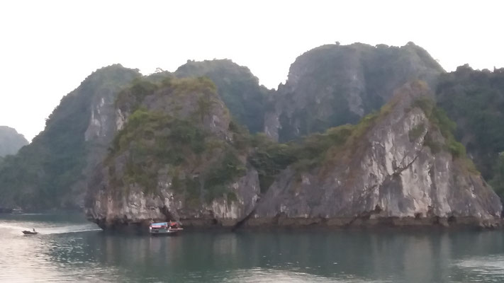 Islote en Bahia de Ha Long