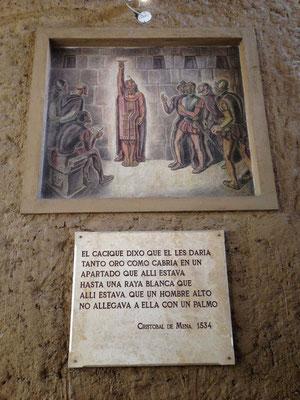 Ante el Cuarto del Rescate de Cajamarca