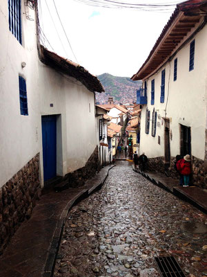 Calle del Barrio de San Blas de Cusco