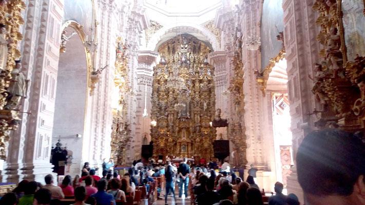 Interior Iglesia de Santa Prisca