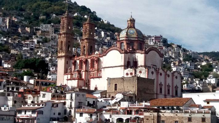 Exterior Iglesia de Santa Prisca