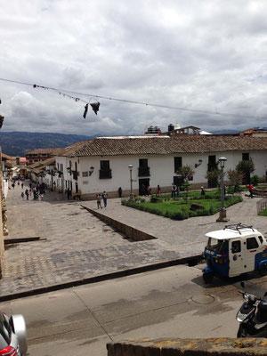 Plazuela de Belen en Cajamarca