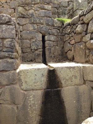Fuentes en Machu Pichu