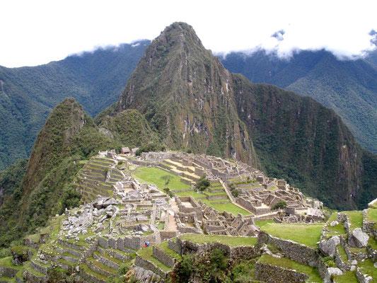 Machu Pichu y Wayna Pichu