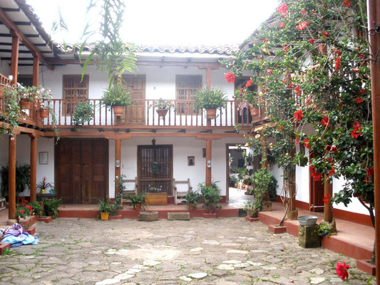 Patio de casa en Chachapoyas