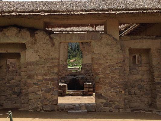 Yacimiento arqueologico de Ollantaytambo