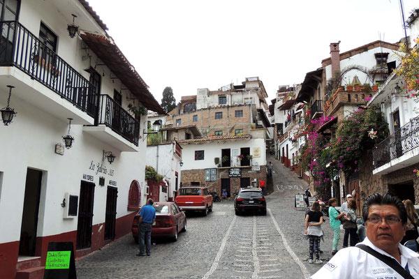 Taxco y sus cuestas