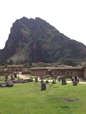 Entrada a Parque Arqueologico de Ollantaytambo