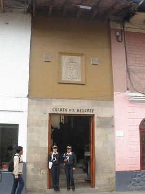 Exterior de Cuarto del Rescate en Cajamarca