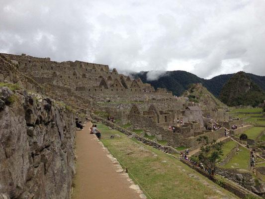 Una Vista de Machu Pichu