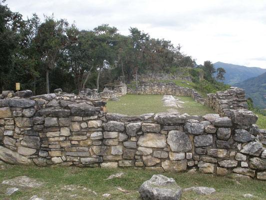 Interior de Kuelap