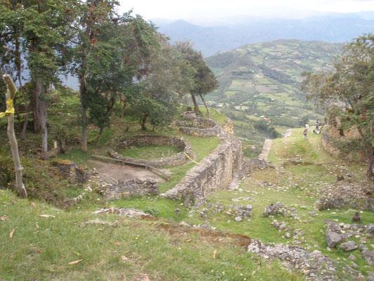 Vista interior de Kuelap